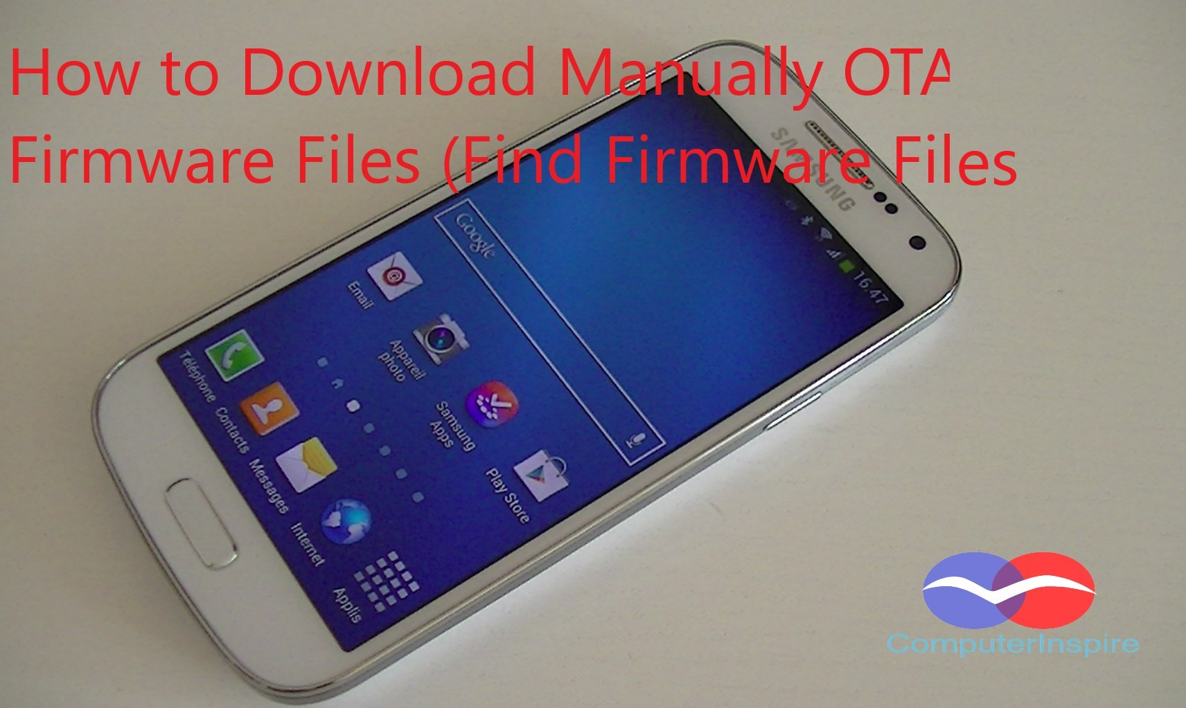 How to Download Manually OTA Firmware Files (Find Firmware Files)