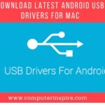 Download Latest Android USB Drivers For MAC