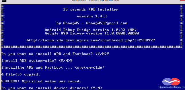 How to Install ADB and Fastboot on Windows
