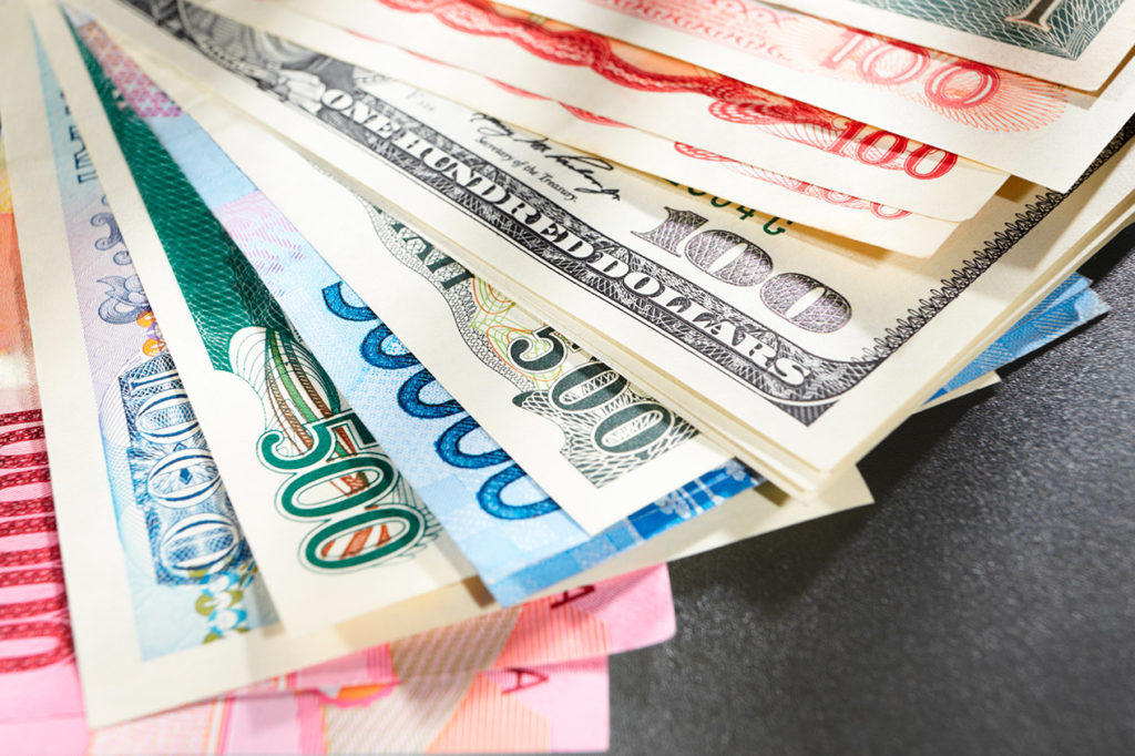 Exchange Rates Best Online Or In