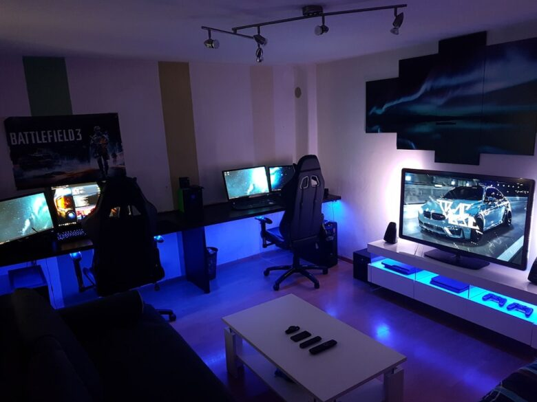 Gaming Room Setup Ideas For Console Gamers In 2020 Norsecorp
